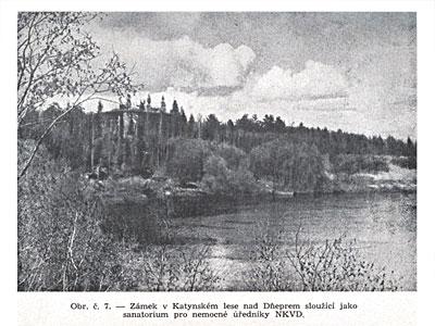 Дача в Катынском лесу на берегу Днепра