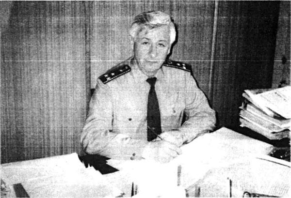 Руководителъ следственной группы Военной прокуратуры Украины полковник юстиции Амонс А. И.